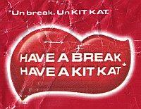 bilingual Kitkat slogan